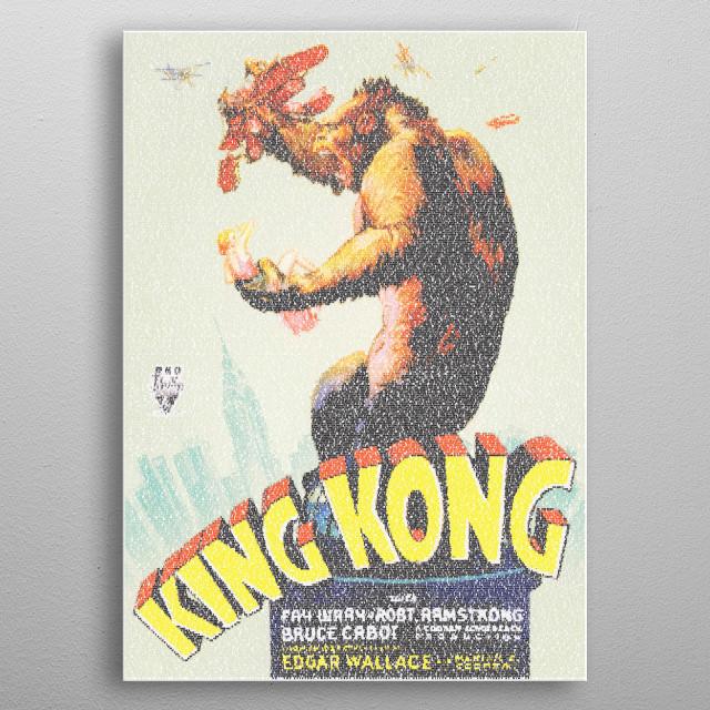 King Kong US version  The 1933    by Robotic Ewe | metal