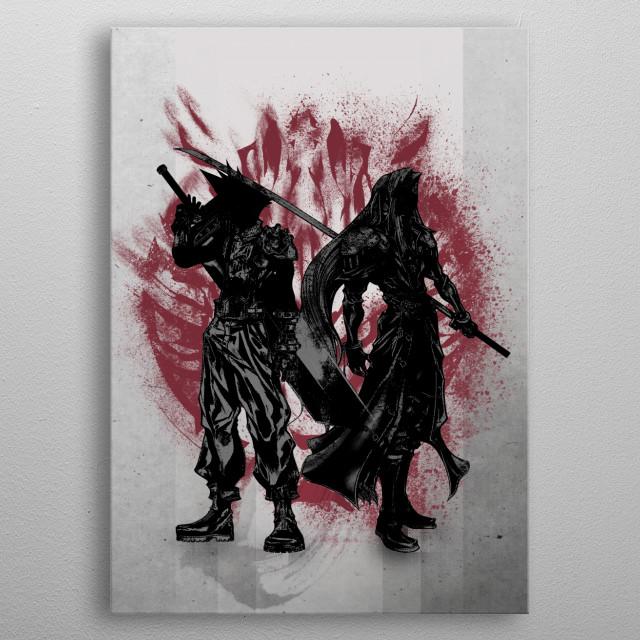 Born Enemies metal poster