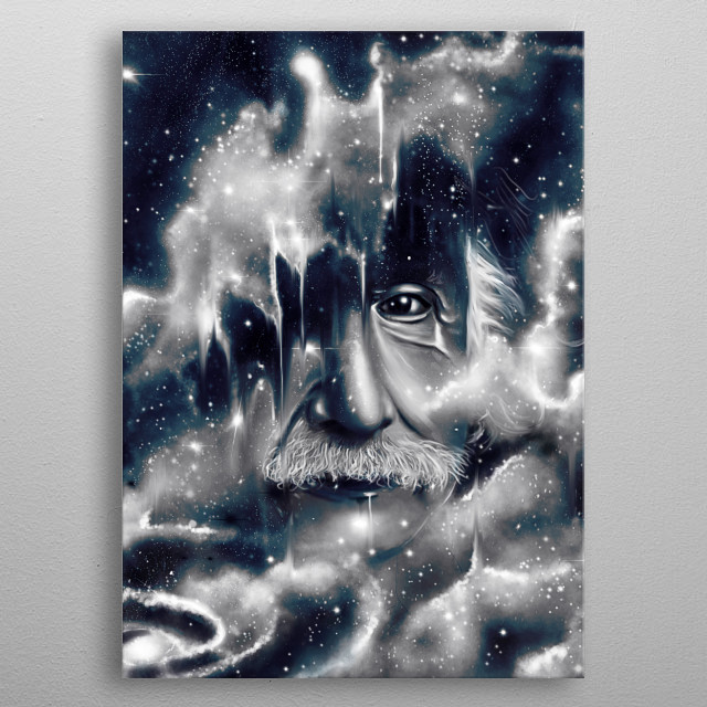 Fascinating metal poster designed by Nicebleed Art. Displate has a unique signature and hologram on the back to add authenticity to each design. metal poster