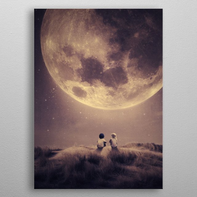 This marvelous metal poster designed by albulenapanduri to add authenticity to your place. Display your passion to the whole world. metal poster