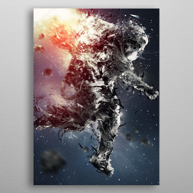 Astro-Not metal poster