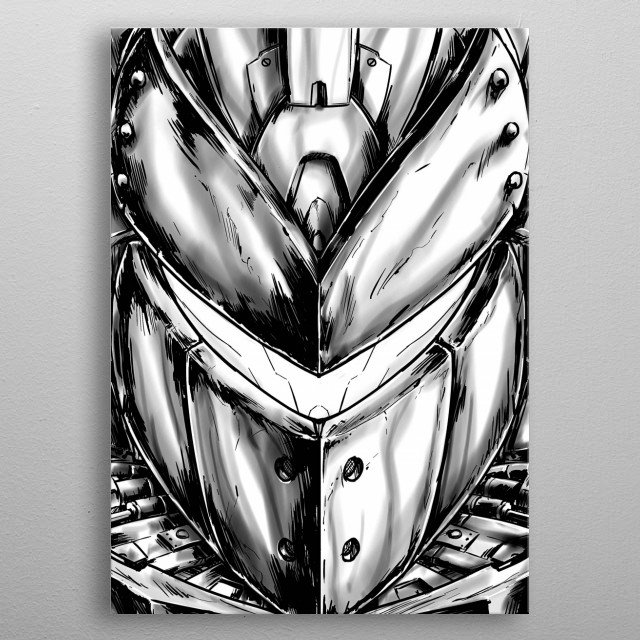 Fascinating  metal poster designed with love by dustov. Decorate your space with this design & find daily inspiration in it. metal poster