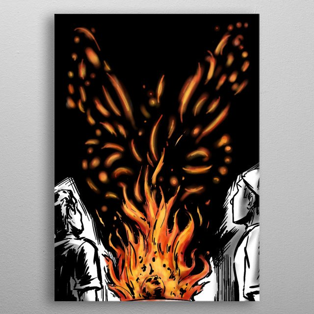 This marvelous metal poster designed by dustov to add authenticity to your place. Display your passion to the whole world. metal poster