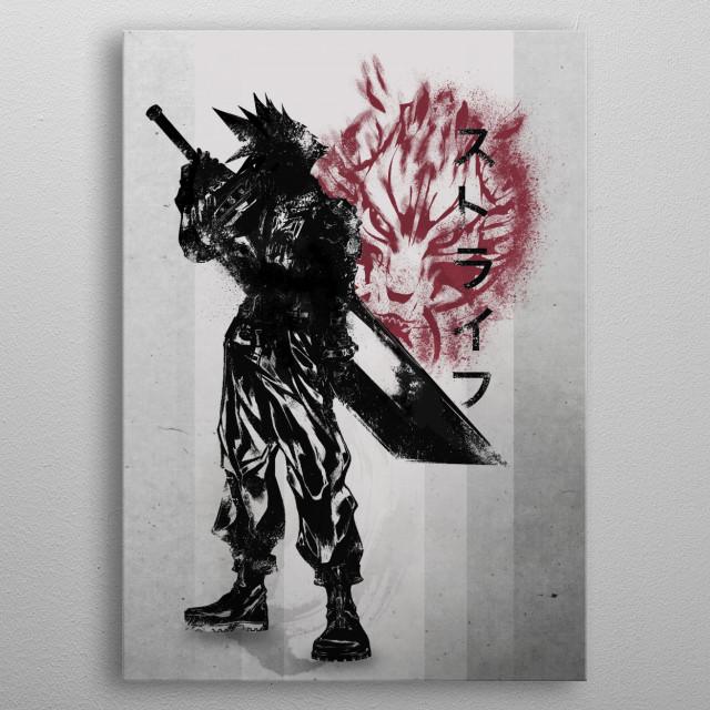 Ex-soldier  metal poster