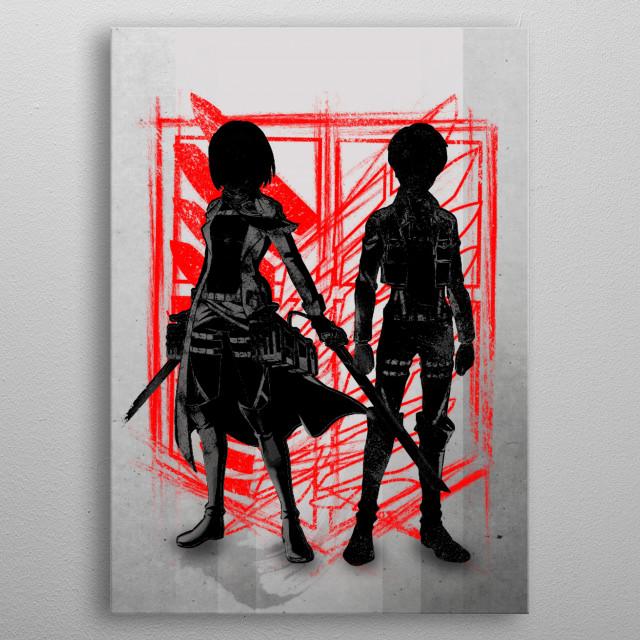 Human Hope metal poster