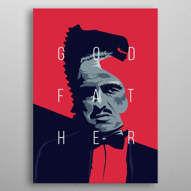 Godfather metal poster