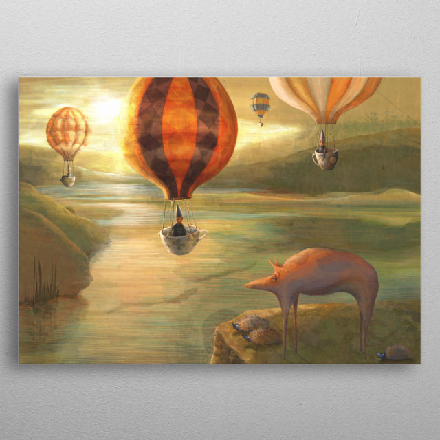 This marvelous metal poster designed by catherineswenson to add authenticity to your place. Display your passion to the whole world. metal poster