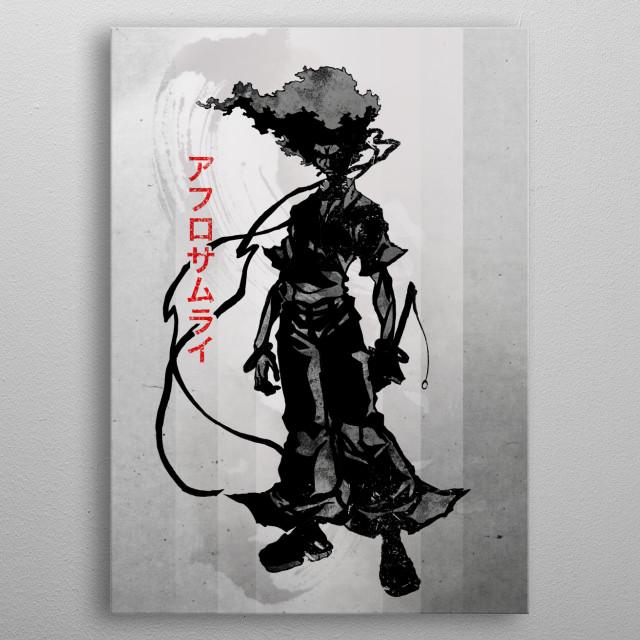 Afro Samurai | Number One metal poster