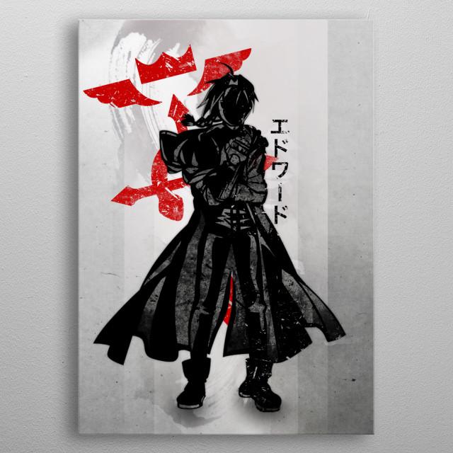 Edward | FMA metal poster
