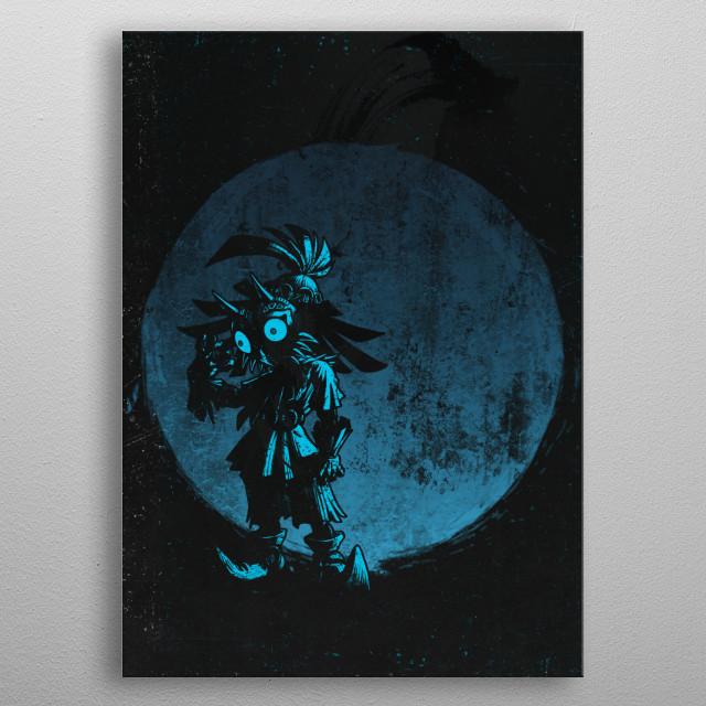 Masked Foe metal poster