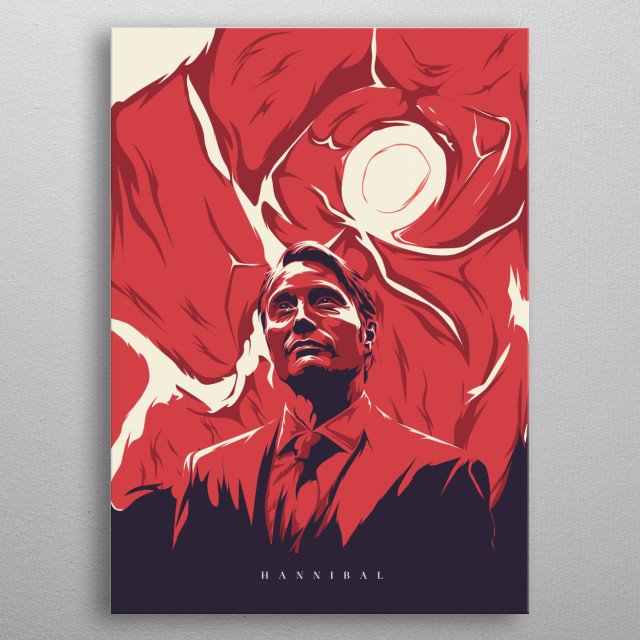 hannibal series metal poster