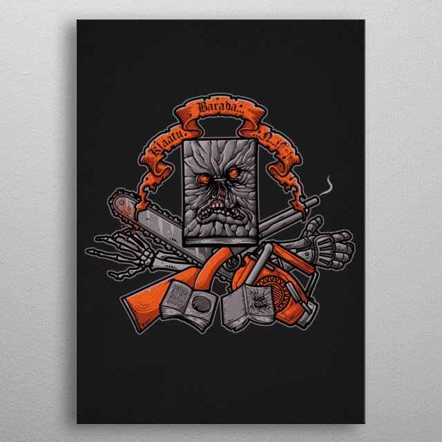Groovy Darkness metal poster
