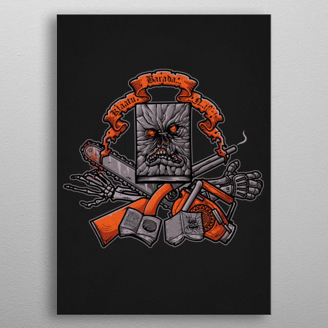 High-quality metal print from amazing Pop Culture Crests collection will bring unique style to your space and will show off your personality. metal poster