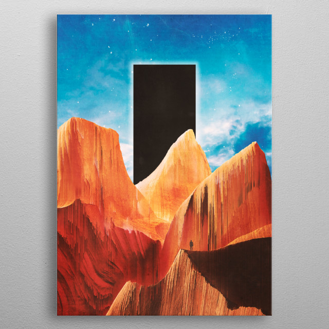 High-quality metal print from amazing Adam collection will bring unique style to your space and will show off your personality. metal poster