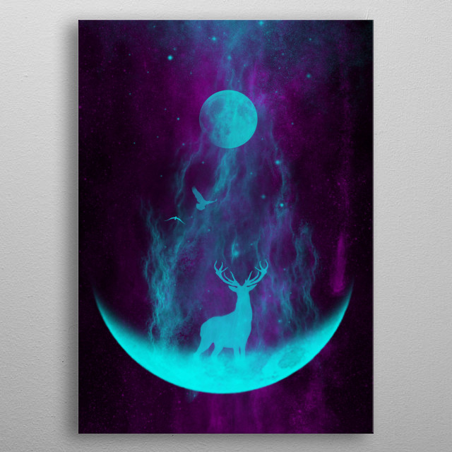 This marvelous metal poster designed by themindblossom to add authenticity to your place. Display your passion to the whole world. metal poster