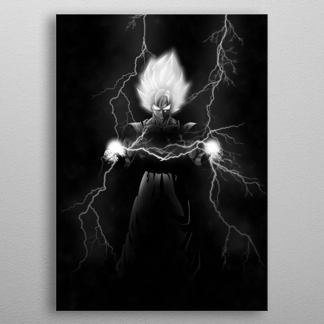 For Goku Fans metal poster