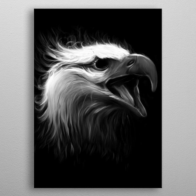 Eagle Eye metal poster