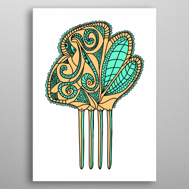 Fascinating  metal poster designed with love by noeldelmar. Decorate your space with this design & find daily inspiration in it. metal poster