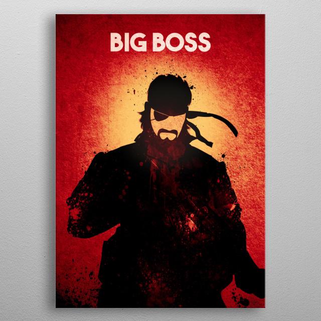 Big Boss · Demon Mode metal poster