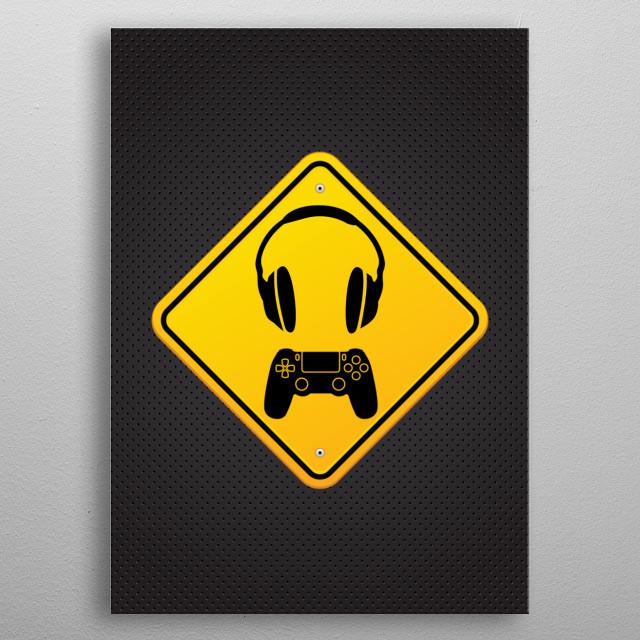 Game series 3/3 metal poster