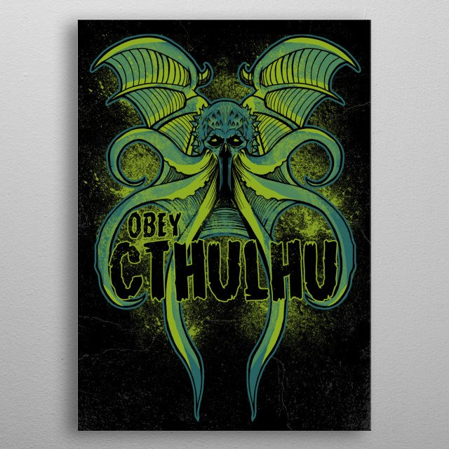 High-quality metal print from amazing Fandom collection will bring unique style to your space and will show off your personality. metal poster