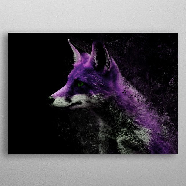 High-quality metal wall art meticulously designed by alexxdx would bring extraordinary style to your room. Hang it & enjoy. metal poster