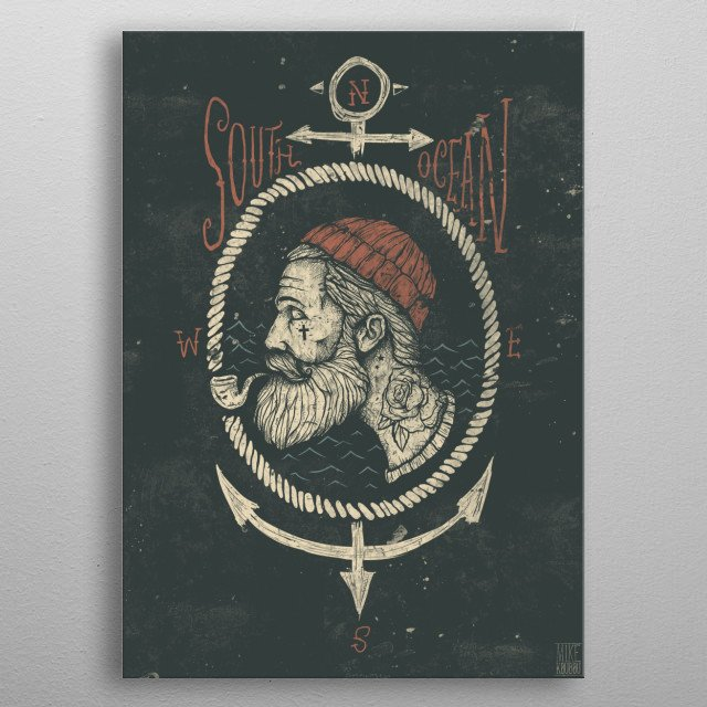 High-quality metal print from amazing Mix Collection collection will bring unique style to your space and will show off your personality. metal poster