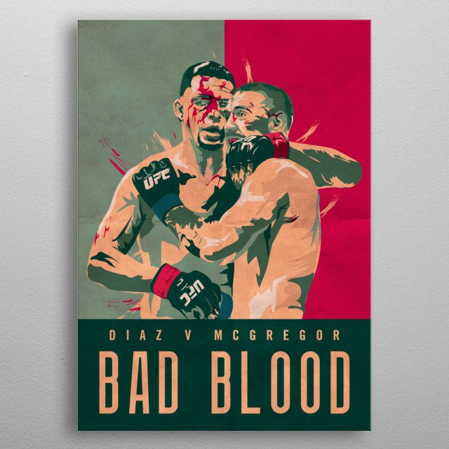 Bad Blood metal poster