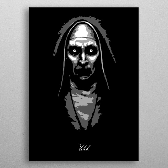 Valak The Conjuring 2 v1.0 metal poster