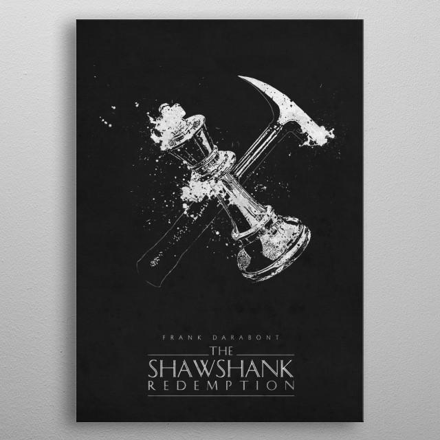 The Shawshank Redemption metal poster
