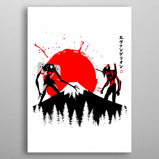 tribute cult  characters anime metal poster