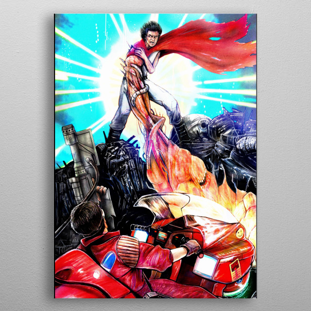 High-quality metal print from amazing Work collection will bring unique style to your space and will show off your personality. metal poster