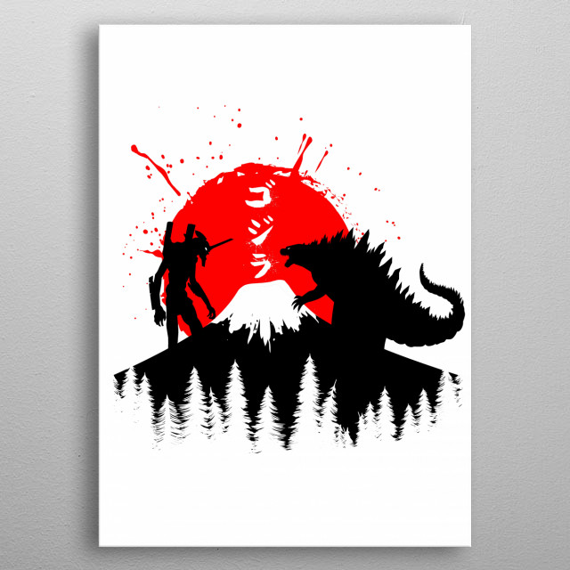 tribute cult  character anime metal poster