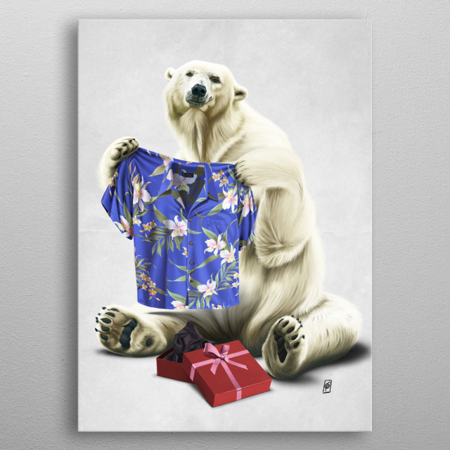 High-quality metal print from amazing Animal Behaviour V collection will bring unique style to your space and will show off your personality. metal poster