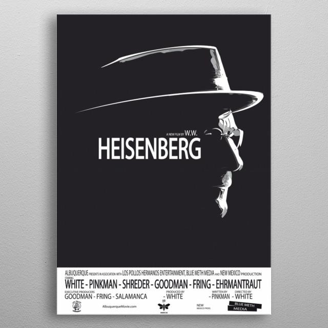 Heisenberg, the movie metal poster