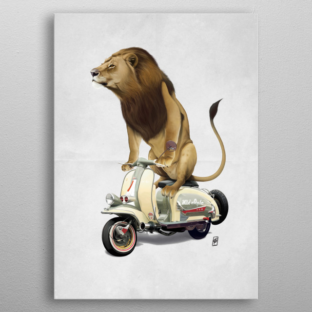 Fascinating  metal poster designed with love by robpsnow. Decorate your space with this design & find daily inspiration in it. metal poster