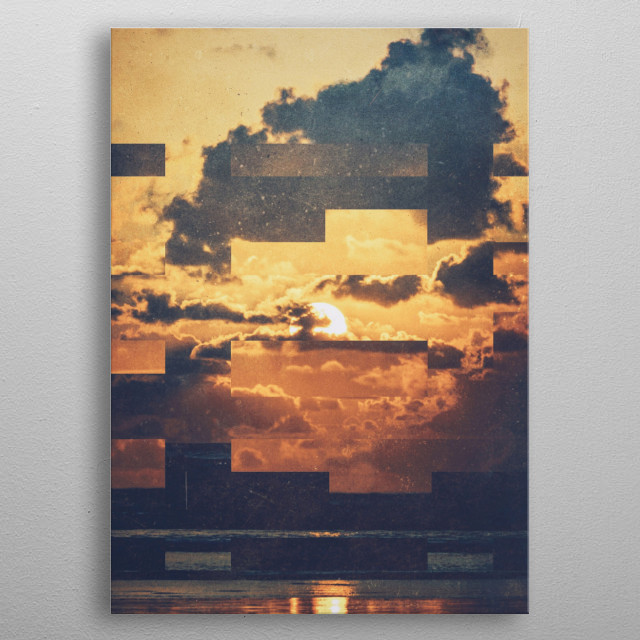 Fractions A44 metal poster