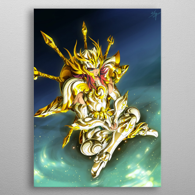 High-quality metal print from amazing Saint Seiya collection will bring unique style to your space and will show off your personality. metal poster