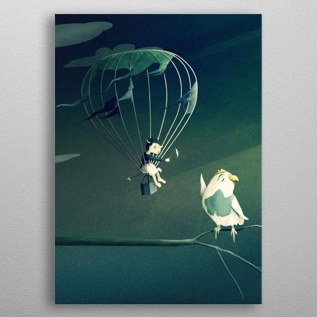 Fascinating  metal poster designed with love by schwebewesen. Decorate your space with this design & find daily inspiration in it. metal poster