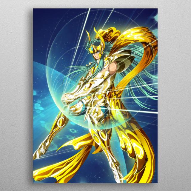 Aquarius Camus by Spaceweaver | metal posters - Displate