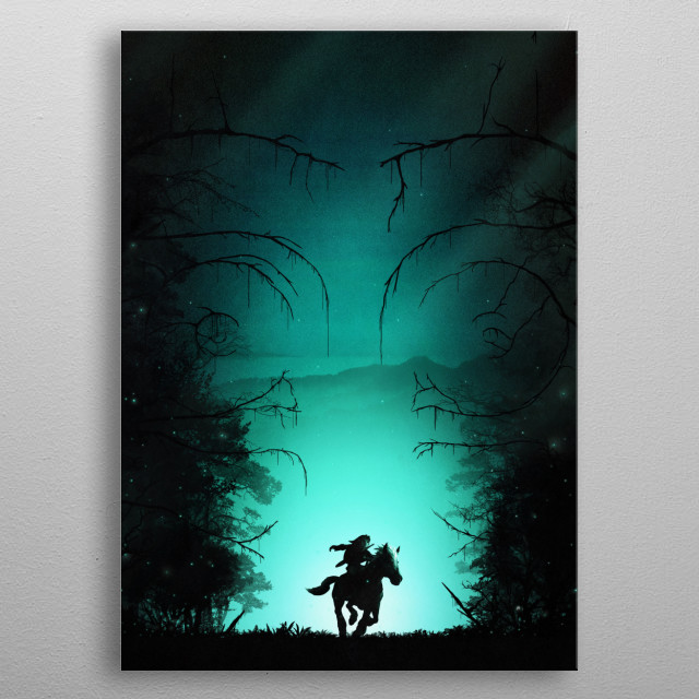 Kokiri Forest metal poster