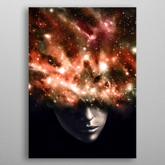 Everything I See metal poster
