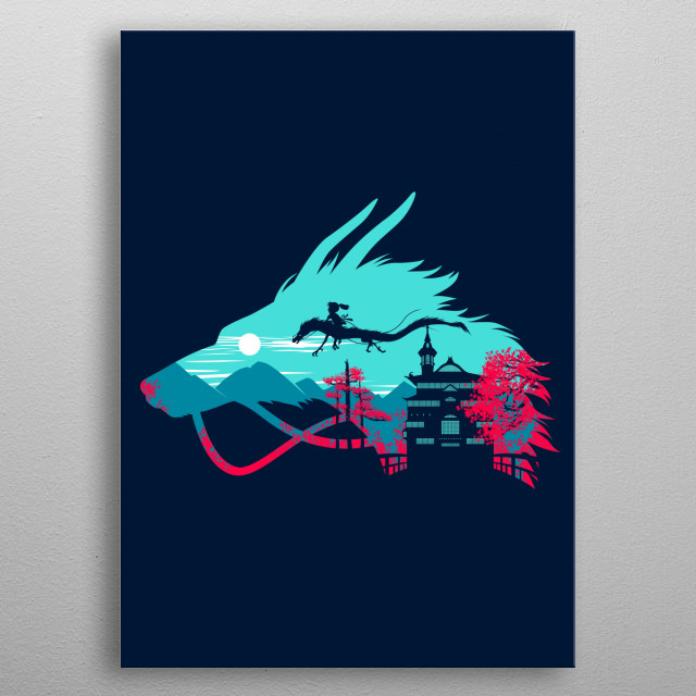 Fascinating metal poster designed by Alberto Perez. Displate has a unique signature and hologram on the back to add authenticity to each design. metal poster