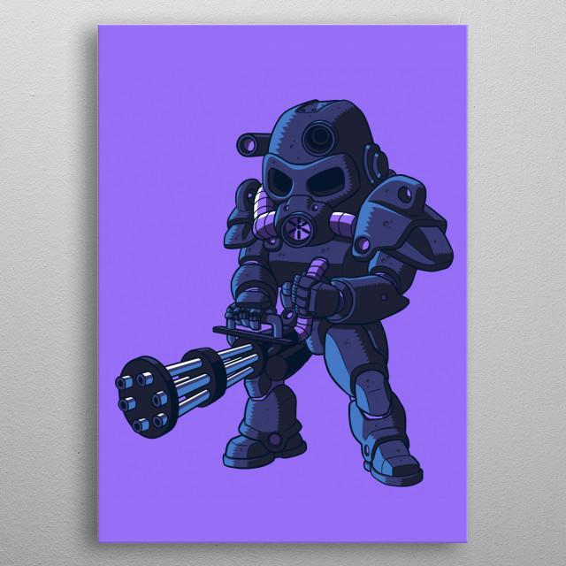 Gamers metal poster