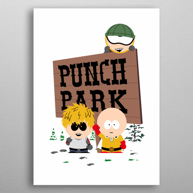 Punch Park metal poster