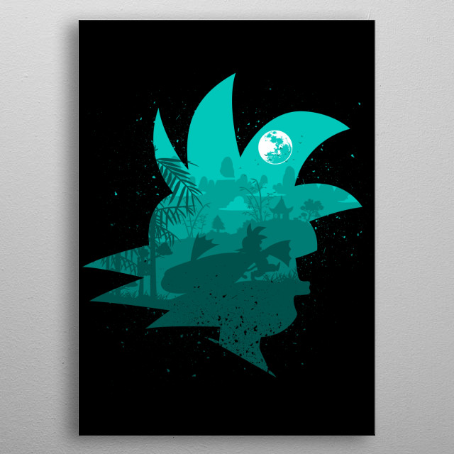 High-quality metal print from amazing Dragon Warriors collection will bring unique style to your space and will show off your personality. metal poster
