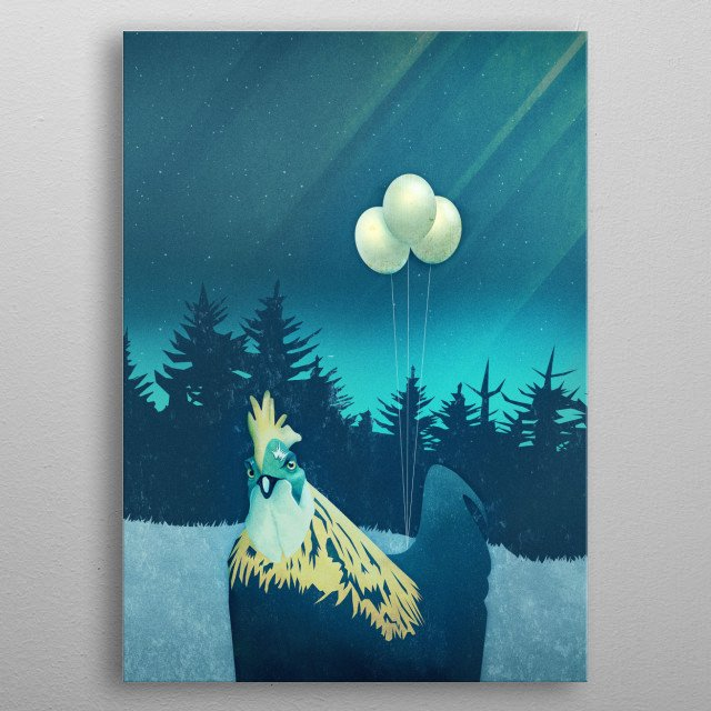 High-quality metal print from amazing My Digital Art collection will bring unique style to your space and will show off your personality. metal poster