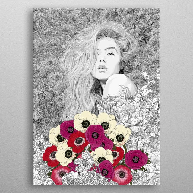 High-quality metal print from amazing Color collection will bring unique style to your space and will show off your personality. metal poster