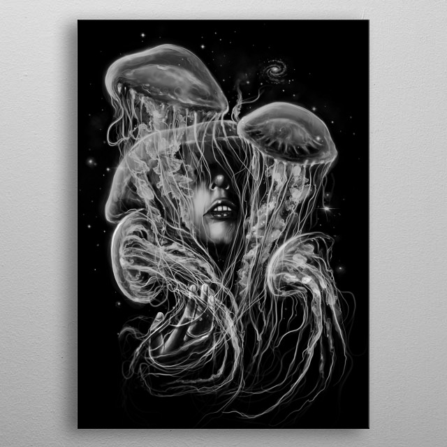 A Beautiful Delusion metal poster