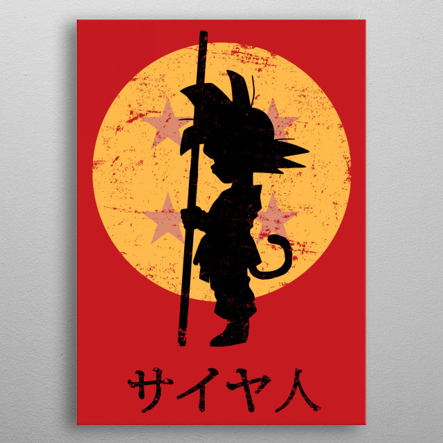 Looking for the Dragon Balls metal poster